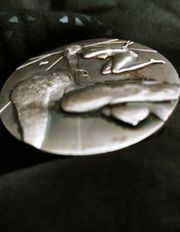Salvador Dali Münze Medaillon authentisch