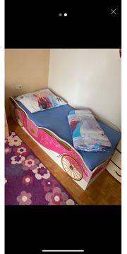 2 Stück Kinder Bett Barbie