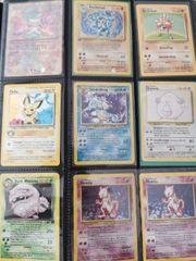 Pokemon Karten base Set Fossil