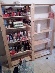 IKEA Regale Holz zu verschenken