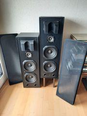 2 großvolumige Lautsprecher-Boxen - SERH GUTER
