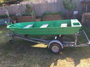 Angelboot mit Trailer Alu und