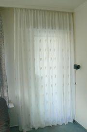 Gardine Store Balkontür 255 cm