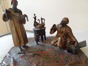 Bronze Basarhändler von A Chotka