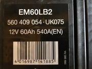 Starterbatterie Autobatterie 12V 60Ah 540A