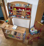 Kaufmannsladen Kinder Kaufladen Holz zusammenlegbar