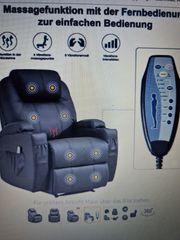 Fernsehsessel mit Massage Wärmefunktion