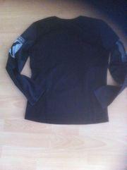 Sweatshirt Schwarz mit Aufdruck