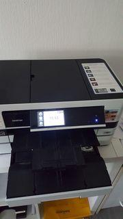 Brother MFC-J4710DW 4-in-1 Tinten-Multifunktionscenter Kopierer