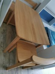 Kindertisch Stuhl und Bank mit
