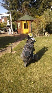Herren-Golfschläger-Set mit Bag Elektrotrolly