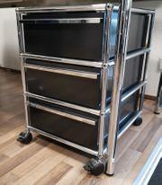 USM Haller Rollcontainer graphitschwarz 3