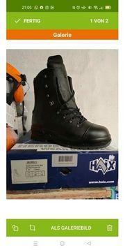 schnittschutz Stiefel Haix gr 44