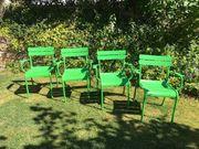 Fermob Gartenstühle grün