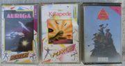 Spielecassetten für Commodore C 16