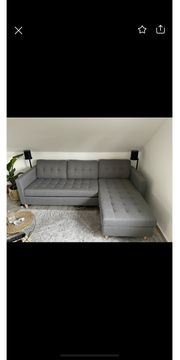 Sofa Couch in grau