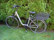 E-Bike mit Tiefeinstieg