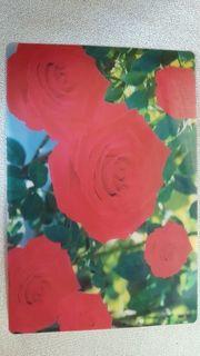 Tischset Rosen abwaschbar