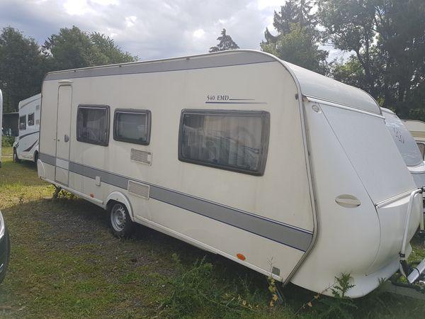 Wohnwagen Hobby 540 EMD