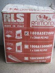 Raimondi RLS Fliesen-Nivelliersystem Fliesenverlegung 3-12mm