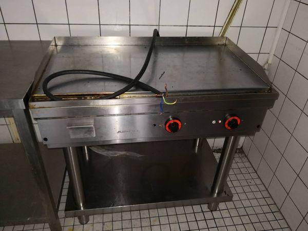Spanische Grillplatte elekrisch - Gastronomie-Gerät