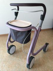 Wohnraum-Rollator Scandinavian Butler Pastel Violett