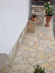 Natursteinplatten Polygonalplatten Fliesen Terrasse