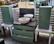 Badmöbel Set 4 teilig leicht