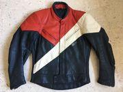 Motorrad Jacke aus Echtleder
