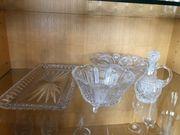 Altes Glasschalen-Set