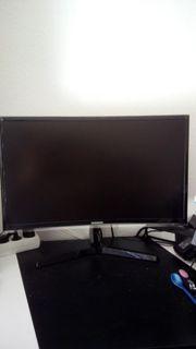 Gamer Computer mit Samsung Flachbildschirm