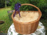 Geschenkkorb aus Weidenruten