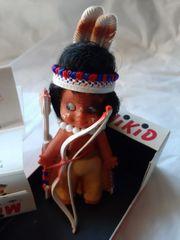 Schildkröt Minikid Indianer Vintage 60er