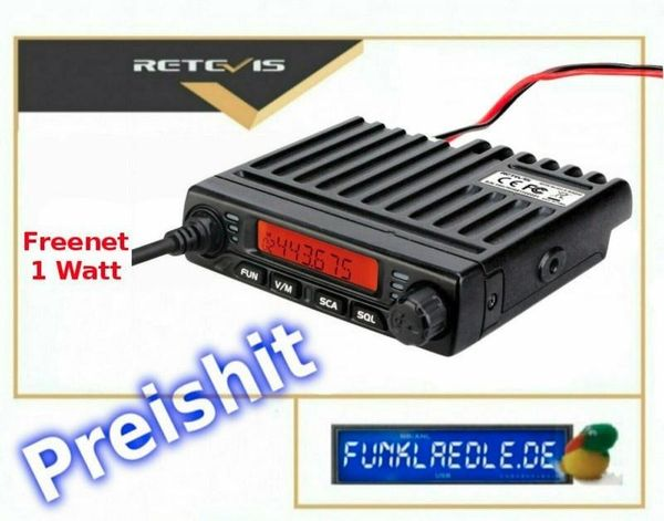Retevis RT98V Freenet VHF 149