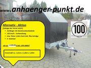 PKW Profi Aluminium Anhänger 1200