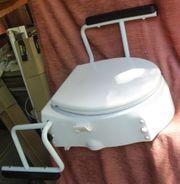 Dietz Toilettensitzerhöhung TSE-1 Sitzhöhe -neigung