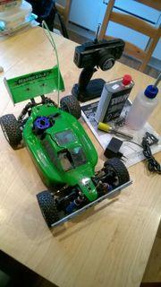 RC Buggy Ferngesteuert Benzin Modellauto