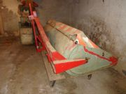 Heckcontainer Schneeschaufel für Traktor Eigenbau