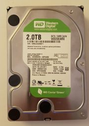 Western Digital WD20EARX Green 2TB