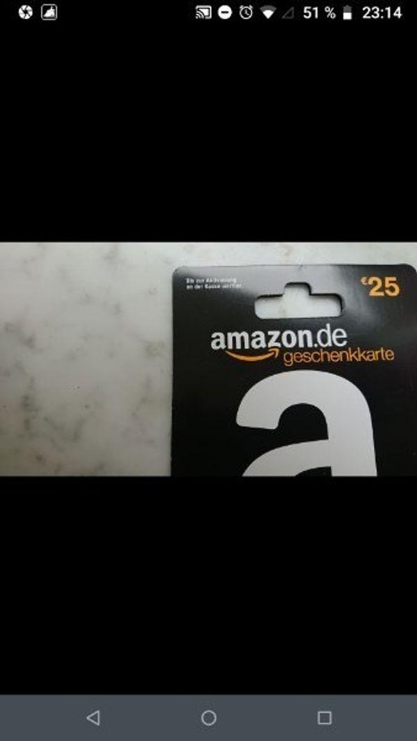amazon Gutschein 25