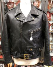 Vintage Aero Leather Jacket LEDERJACKE