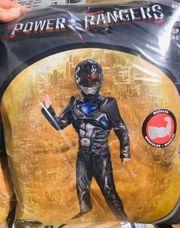 Power Ranger Black Muskel Kostüm
