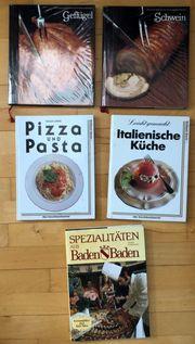 5 Kochbücher zu verschenken