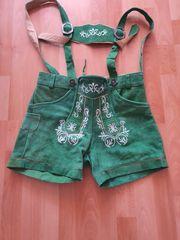 Lederhose grün für Frauen