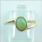 Goldring mit Top Welo Opal