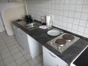 Küchenzeile mit AEG Standherd