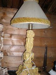 antike Tischlampe Alabasta Drachen usw