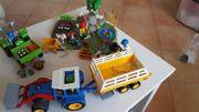 Playmobil Traktor Set Blumenbeet mit
