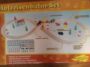 Holzeisenbahn Holzspielzeug