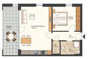 2-Zimmerwohnung in bevorzugter Wohnlage in